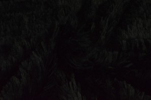 Pluche 03 zwart