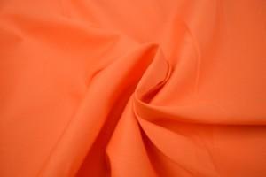 Katoen poplin 23 donker oranje
