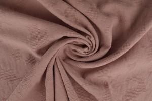Katoen jacquard 38 donker oud roze