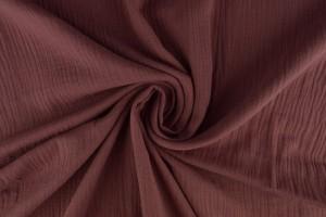 Mousseline 38 donker oud roze