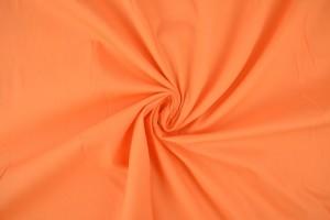 Katoen poplin 10 oranje