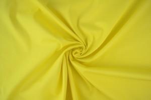 Katoen poplin 27 licht geel