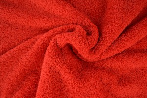 Badstof 01 rood