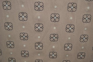 Cotton washed print w04-19