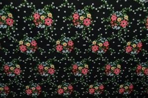 Cotton print 8012-1 black