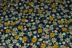 Cotton print 9794-3 navy