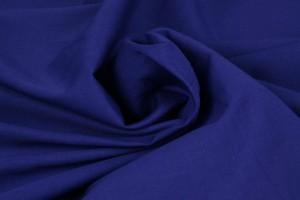 Katoen poplin 28 donkerblauw