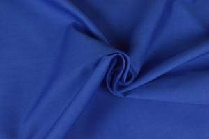 Katoen poplin 15 blauw