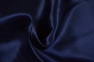 Satijn 48 navy blauw