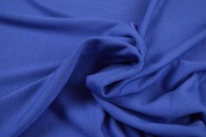 Viscose jersey 15 blauw