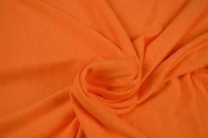 Viscose jersey 23 donker oranje