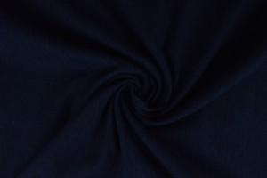 Gewassen denim stretch - 04 - donker blauw