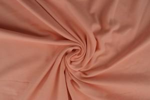 Katoen jersey 40 zalm roze