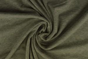Katoen jersey m2 grijs melange