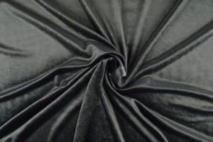 Fluweel 17 donker grijs