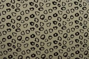 Cotton washed print 01-25 zilvergrijs