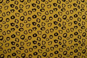 Cotton washed print 01-47 okergeel