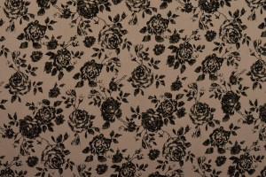 Cotton washed print 03-19 oud roze