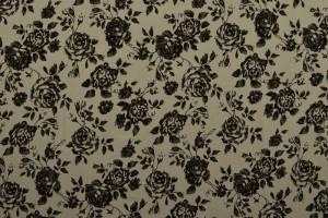 Cotton washed print 03-25 zilvergrijs
