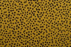 Cotton washed print 05-47 okergeel