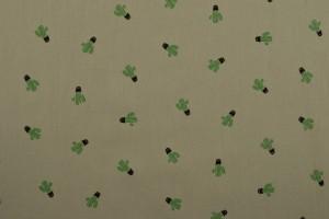 Cotton washed print 07-25 zilvergrijs