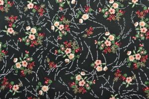 Cotton print 8004-4 black