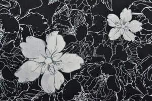 Cotton print 8032-2 black