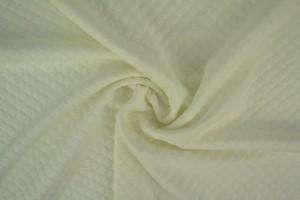 Jersey sweat diamond 01-01 gebroken wit