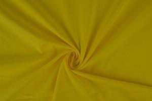 Katoen poplin 07 geel