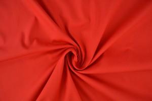 Katoen poplin 01 rood