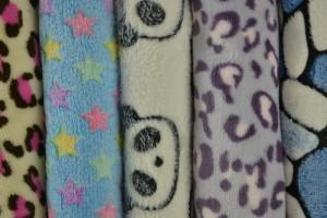 Coral fleece prints