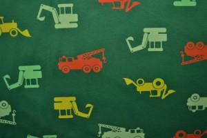 Cotton jersey print - wow 02-32 groen