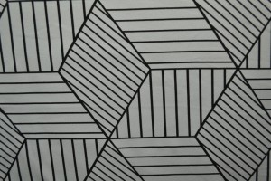 Cotton jersey print - wow 18-25 zilvergrijs