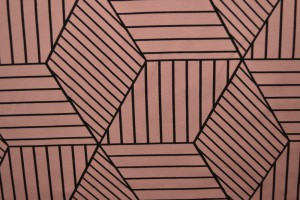 Cotton jersey print - wow 18-37 oud roze