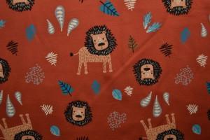 Cotton jersey print - wow 09-42 koper