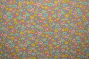 Cotton jersey print - wow 10-37 oud roze