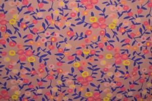 Cotton jersey print - wow 12-37 oud roze