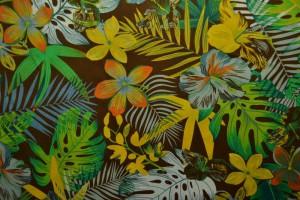 Cotton print 8071-3 brown