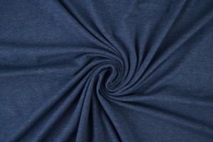Katoen jersey m15 donker jeans melange