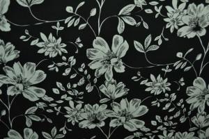 Cotton print 8026-1 black