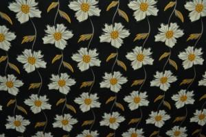 Cotton print 8051-5 black