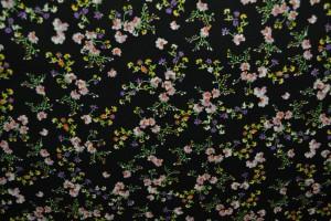 Cotton print 8096-2 black