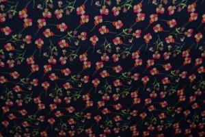 Cotton print 9783-4 navy