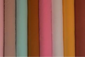Kleurenkaart katoen gewassen