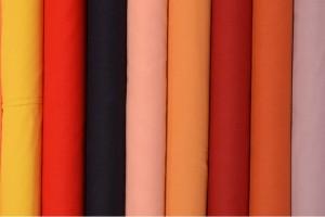 Kleurenkaart katoen voile