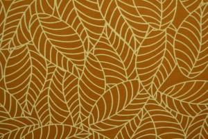 Cotton jersey print - wow 59-44 donker okergeel