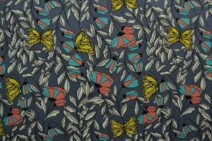 Cotton jersey print - wow 53-17 donkergrijs