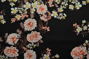 Cotton print 8005-4 black