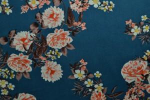 Cotton print 8005-2 blue